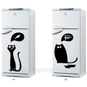 Наклейки на холодильник, стикеры Коты фото