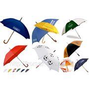 Зонты с логотипом в Минске (зонт в комплекте) фото