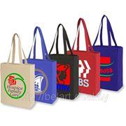 Промосумки, тканевые сумки с логотипом, нанесение логотипа на сумки фото
