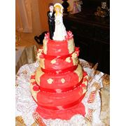 Изготовление под заказ: Торты Торты свадебные Пирожные фото