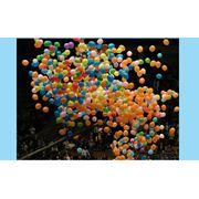 Запуск или сброс воздушных шаров с гелием на праздник цена. Киев. фото