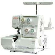 Швейная машинка JANOME ML205D Поверхность 3-х, 4-х ниточный с дифференциальной подачей ткани. фото