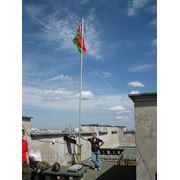Флагшток высотой 10 метров фото