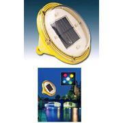 Плавающие светильники на солнечных батареях фото