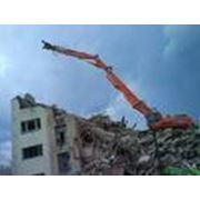 Демонтаж зданий сооружений и строений фото