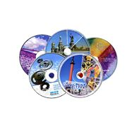 Тиражирование CD/DVD, в т.ч. печать на CD/DVD фото