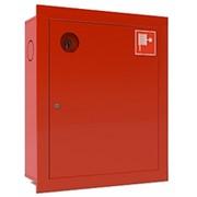 Шкаф пожарный правый ШПК-310 ВЗК красный фото