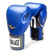 Перчатки боксерские Everlast Pro Style Anti-Mb 2210U 10 унций синие фото