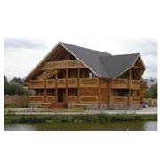 Строительство деревянно-каркасных домов. фото