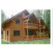 Строительство домов из дерева в Украине Кировоград. фото