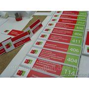 Информационные таблички. Адресные таблички и указатели. фото