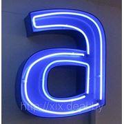 Изготовление световых букв фото