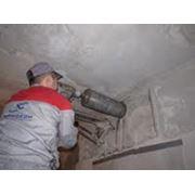 Сверление отверстий в бетонных стенах Киев фото