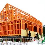 Проекты каркасных домов фото