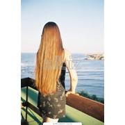 Наращивание волос киев фото