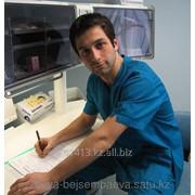 Осмотр хирурга при свежих травмах (прием+процедура) фото
