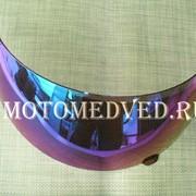 Стекло шлема хамелеон (закрытый шлем) фото