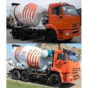 Автобетоносмесители АБС-7 и АБС-9 на шасси КАМАЗ фото