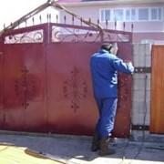 Демонтаж ворот, батарей отопления, металлических  фото