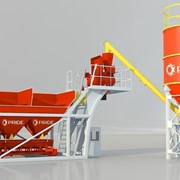 Mobile 15 Компактный мобильный бетонный завод фото