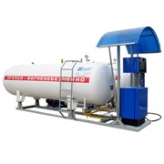 Модульная установка АГЗС SHELF 100-1 LPG (19м3) фото