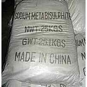 Натрий пиросульфит. Пиросернистокислый натрий. Метабисульфит натрия. фото