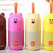 Детская Bluetooth колонка TG-502 (Бежевый) фото
