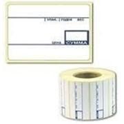 Этикет лента для весов c термопечатью 57х40х700 штpreprintэтикетка для весов фото