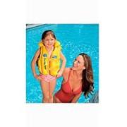 Надувной жилет Intex 58660 Делюкс Желтый фото