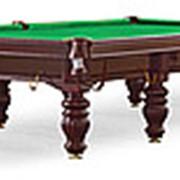 Weekend Бильярдный стол для русского бильярда «Dynamic Prince» 12 ф (махагон) фото