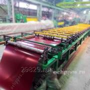Оборудование для производства металлочерепицы типа Монтеррей фото