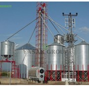 Силос 1, Силосы для зерна, Силосы для муки производитель Турция, Элеваторы и зернохранилища фото
