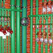 Системы горячего и холодного водоснабжения фото