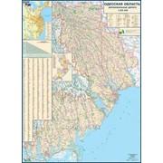 Одесская область. Карта автомобильных дорог фото