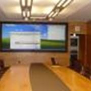 Аренда проекционного экрана DNP Sigma Screen, Прокат, аренда оборудования для презентаций фото