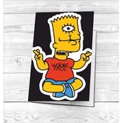 Обложка Симпсоны на паспорт №1 фото