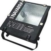 Прожектор заливающего света Navarra 400 Вт SM E40 ДНАТ/МГ VS тип: ЖО/ГО-400 черный ЛЮМЕН фото