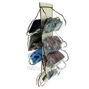 Органайзер для хранения сумок на вешалке фото