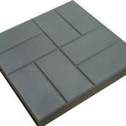 Плитка тротуарная 40х40х5 см. фото