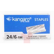 Скобы №10 (1000 шт/уп) Kangaro красный фото