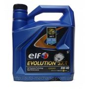 Моторное масло ELF Evolution SXR 5W40 (5 Liter) фото