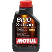 Масло моторное MOTUL 8100 X-clean 5W-40 1 литр фото