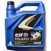 Моторное масло ELF Solaris DPF 5W30 (5 Liter) фото