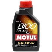 Масло моторное синтетическое Motul 8100 X-clean 5W-30 5 литров фото