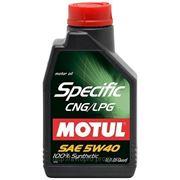 Масло моторное MOTUL SPECIFIC CNG/LPG 5W-40 5 литров фото