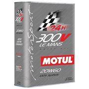 Масло моторное синтетическое Motul 300V Le Mans 20W-60 2 литра фото