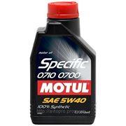Масло моторное MOTUL Specific 0720 5W-30 5 литров фото