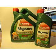 Моторное масло CASTROL Magnatec 5w40 4л фото