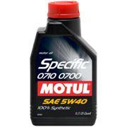 Моторное масло MOTUL Specific 0710 - 0700 5w40 , 1 л. синтетика фото
