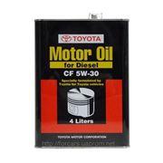 Масло моторное дизельное масло Toyota Motor Oil for Diesel CF 5W-30 4L 08883-81015 фото